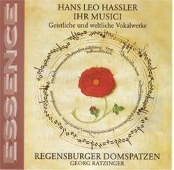 """HASSLER """"Ihr Musici"""""""